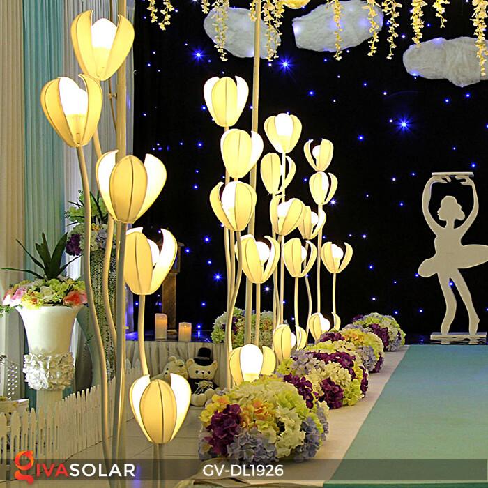Đèn sóng hoa mộc lan GV-DL1926 trang trí sự kiện tiệc cưới 15