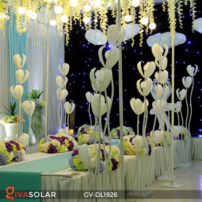Đèn sóng hoa mộc lan GV-DL1926 trang trí sự kiện tiệc cưới 16