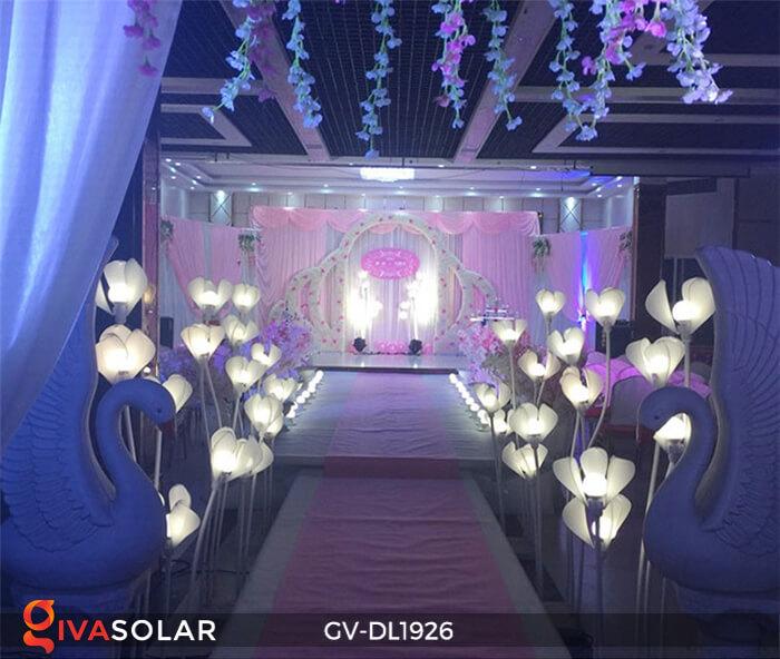 Đèn sóng hoa mộc lan GV-DL1926 trang trí sự kiện tiệc cưới 5