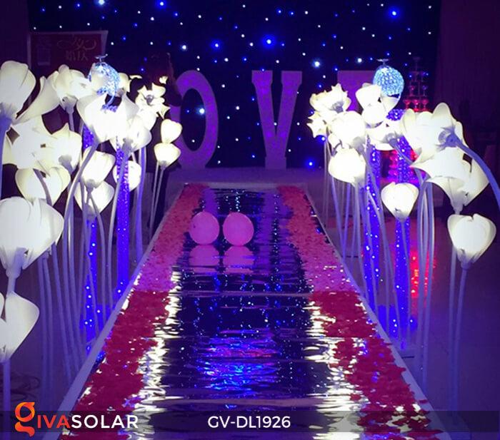 Đèn sóng hoa mộc lan GV-DL1926 trang trí sự kiện tiệc cưới 7