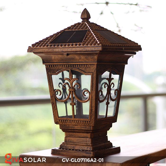 Đèn trụ cổng năng lượng mặt trời GV-GL07116A2-01 7