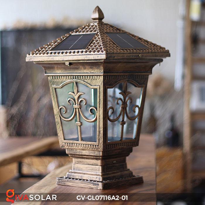 Đèn trụ cổng năng lượng mặt trời GV-GL07116A2-01 9