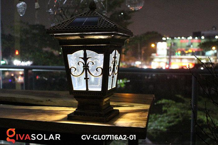 Đèn trụ cổng năng lượng mặt trời GV-GL07116A2-01 11