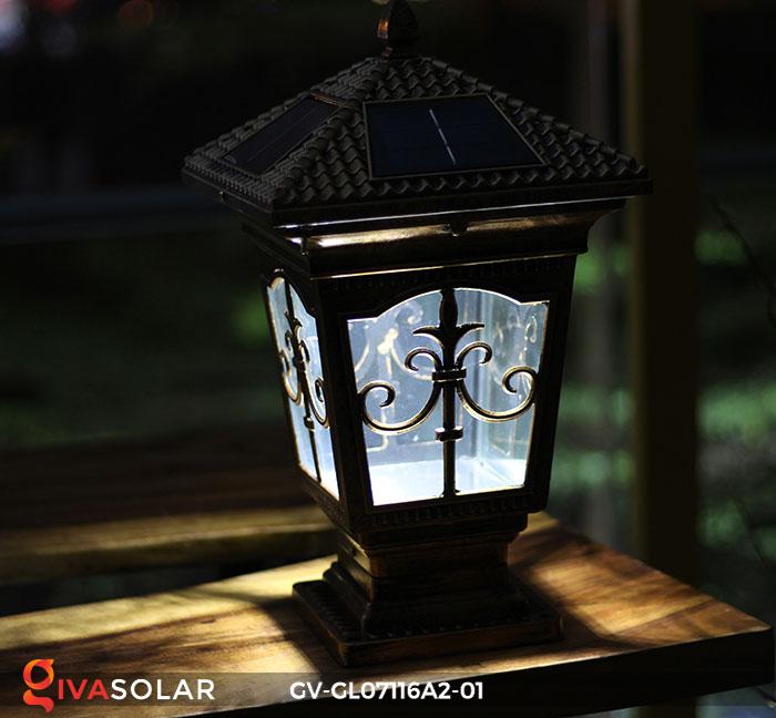 Đèn trụ cổng năng lượng mặt trời GV-GL07116A2-01 13