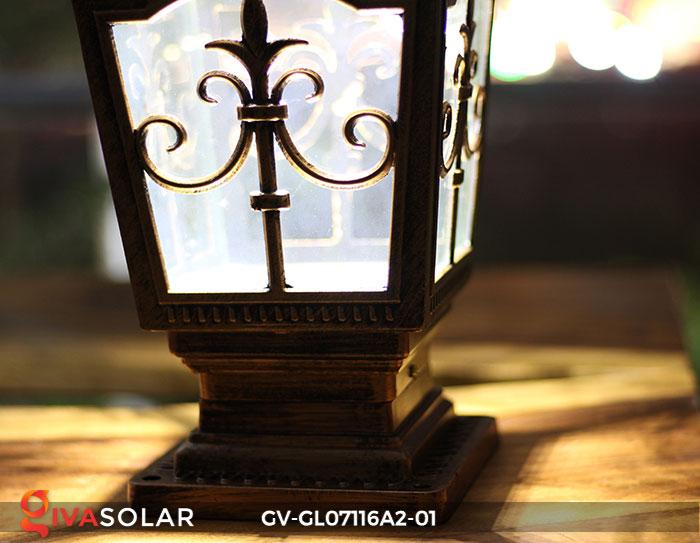 Đèn trụ cổng năng lượng mặt trời GV-GL07116A2-01 15