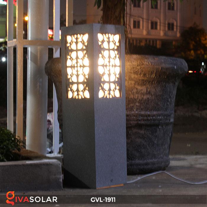 Đèn trụ đá sân vườn GVL-1911 12