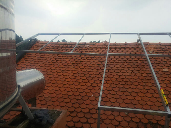 Lắp đặt điện mặt trời hòa lưới cho gia đình 5KW ở Bình Dương 1