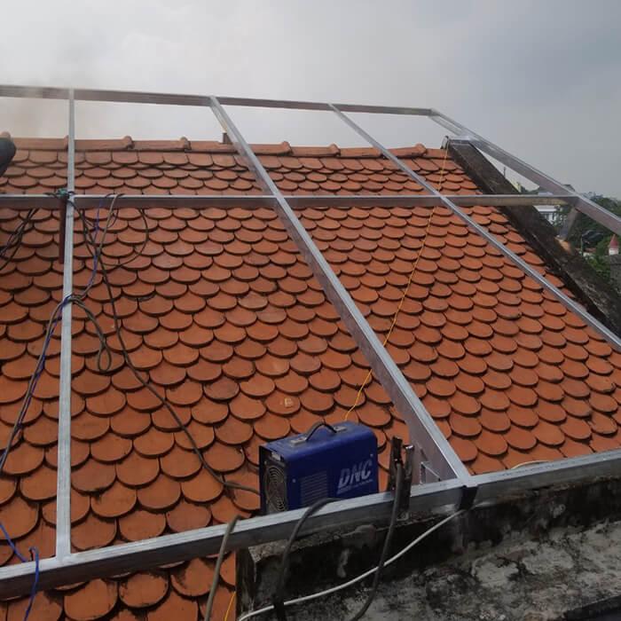 Lắp đặt điện mặt trời hòa lưới cho gia đình 5KW ở Bình Dương 2