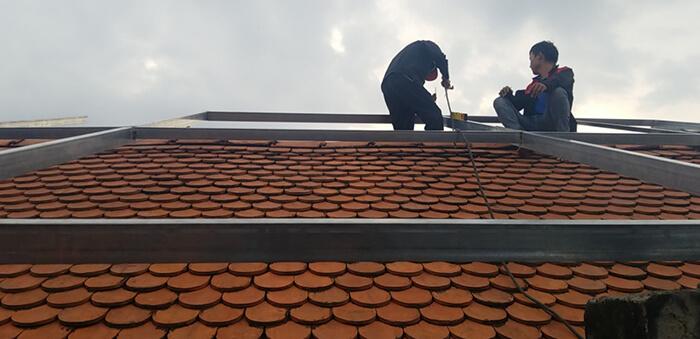 Lắp đặt điện mặt trời hòa lưới cho gia đình 5KW ở Bình Dương 3