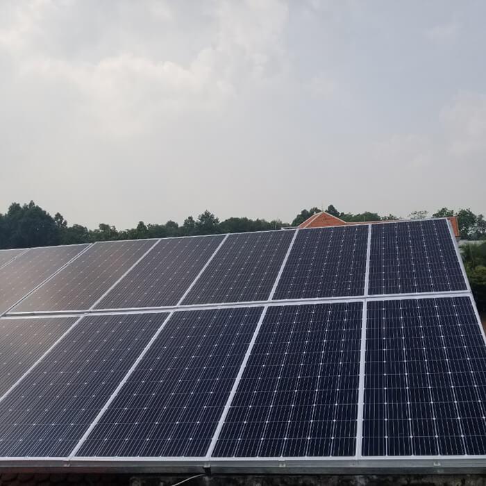 Lắp đặt điện mặt trời hòa lưới cho gia đình 5KW ở Bình Dương 5