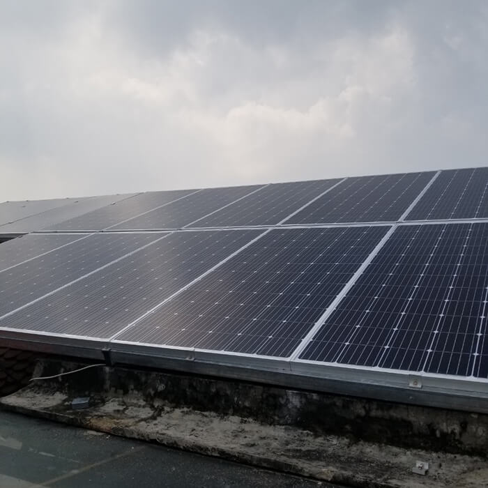 Lắp đặt điện mặt trời hòa lưới cho gia đình 5KW ở Bình Dương 6