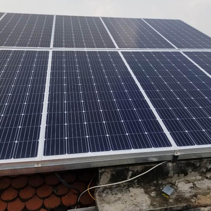 Lắp đặt điện mặt trời hòa lưới cho gia đình 5KW ở Bình Dương 7