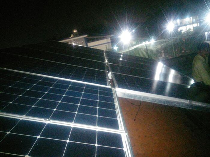Lắp đặt điện mặt trời hòa lưới cho gia đình 5KW ở Bình Dương 9