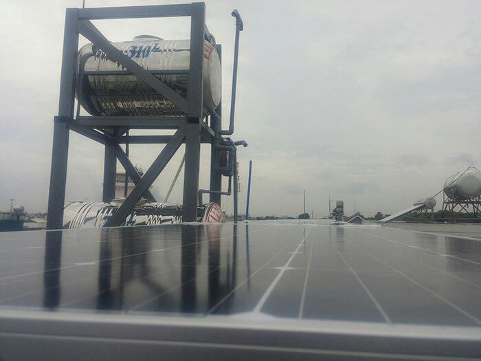 Lắp đặt hoàn thành hệ thống hòa lưới 6.8KW ở Bình Tân 13