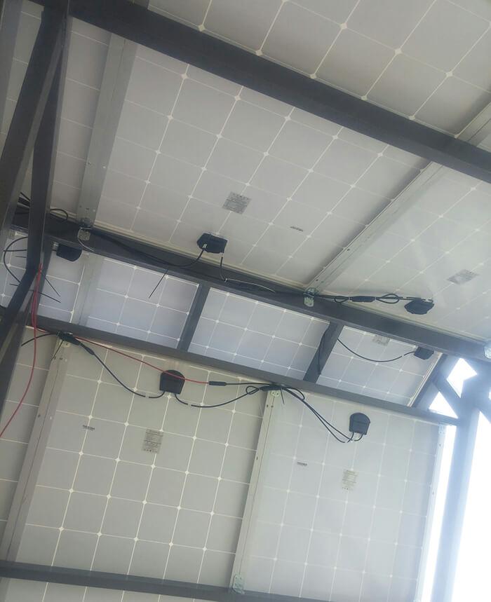 Lắp đặt hoàn thành hệ thống hòa lưới 6.8KW ở Bình Tân 16