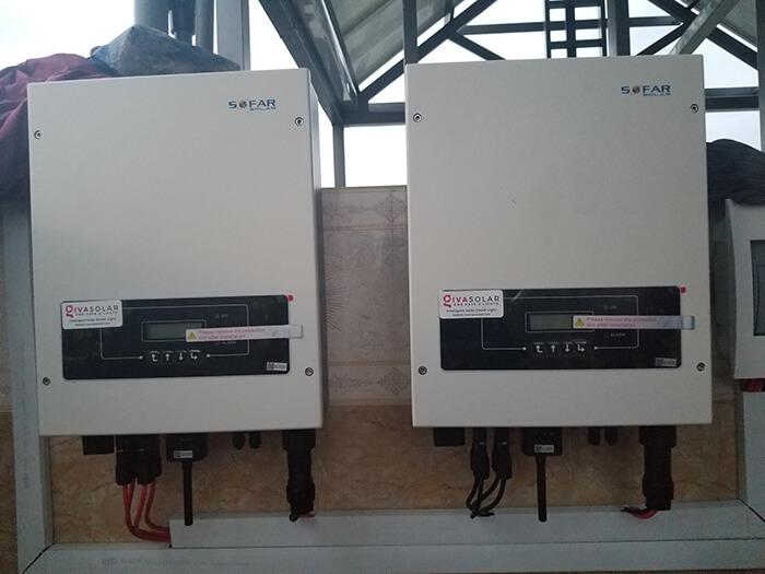 Lắp đặt hoàn thành hệ thống hòa lưới 6.8KW ở Bình Tân 20