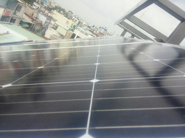 Lắp đặt hoàn thành hệ thống hòa lưới 6.8KW ở Bình Tân 3