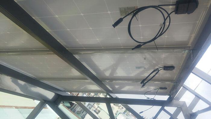 Lắp đặt hoàn thành hệ thống hòa lưới 6.8KW ở Bình Tân 4
