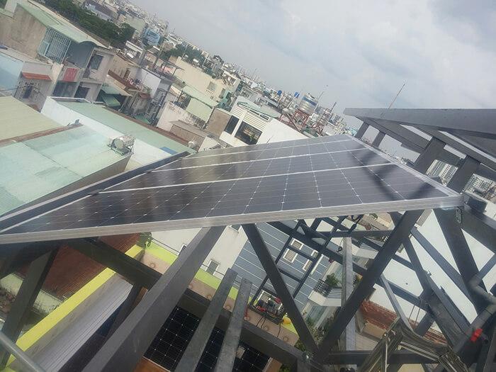 Lắp đặt hoàn thành hệ thống hòa lưới 6.8KW ở Bình Tân 5