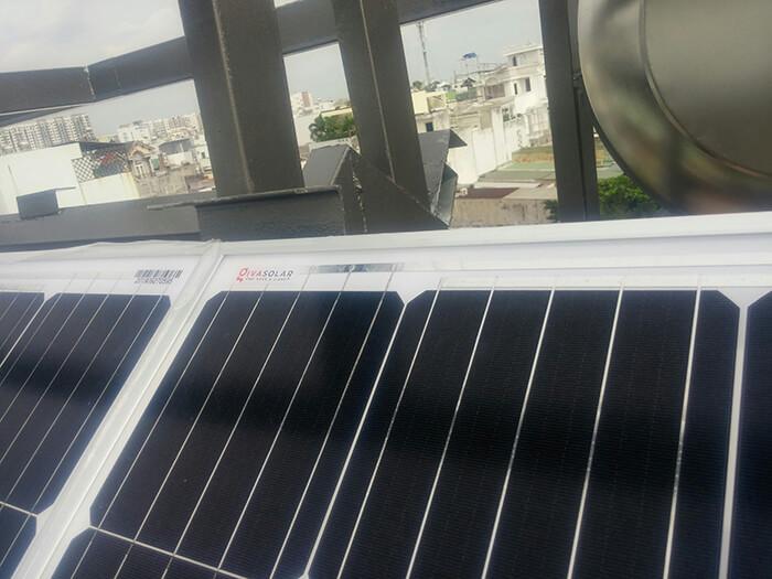 Lắp đặt hoàn thành hệ thống hòa lưới 6.8KW ở Bình Tân 6