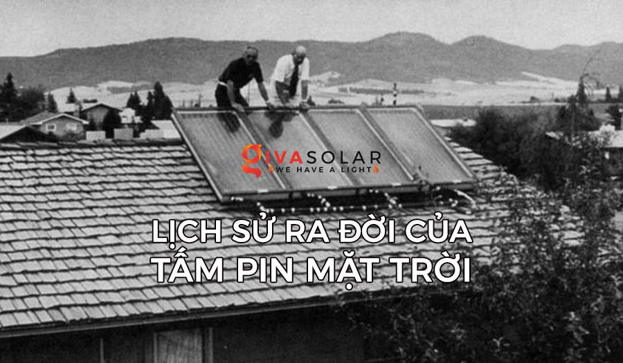 Lịch sử của tấm pin năng lượng mặt trời