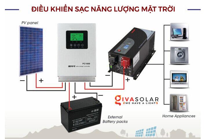 Tại sao phải dùng bộ điều khiển sạc cho hệ thống pin mặt trời