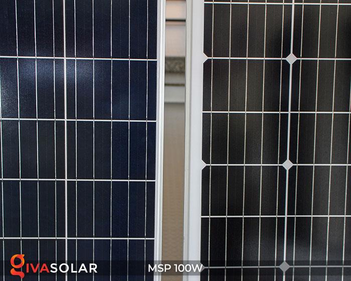 Tấm pin năng lượng mặt trời Mono 100W 11