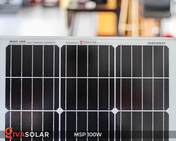 Tấm pin năng lượng mặt trời Mono 100W 5