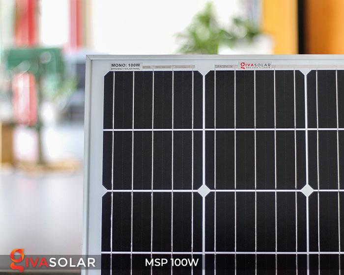 Tấm pin năng lượng mặt trời Mono 100W 7