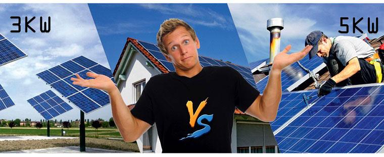 Hệ thống năng lượng mặt trời 3kW & 5kW