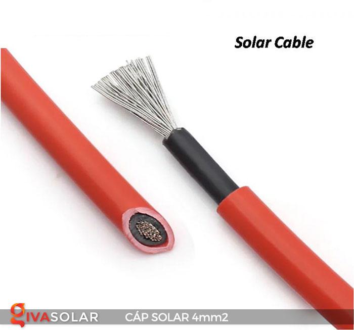 Dây Cáp DC solar 4mm2 10