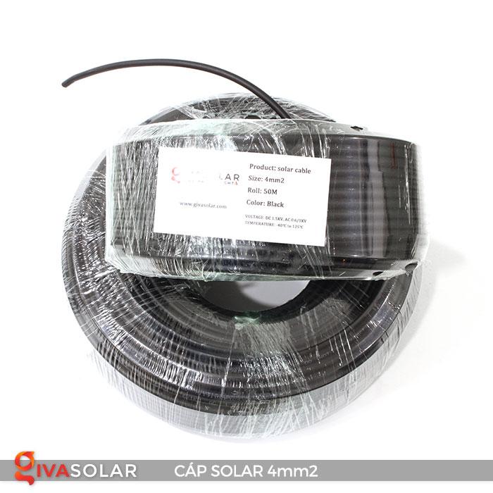 Dây Cáp DC solar 4mm2 3
