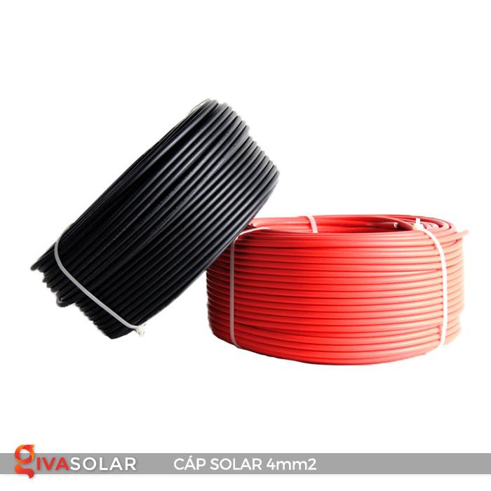 Dây Cáp DC solar 4mm2 5