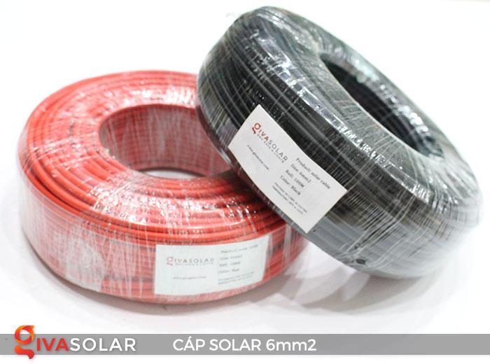 Cáp Solar DC 6mm2 1