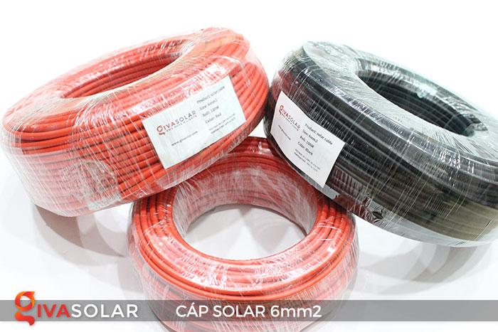 Cáp Solar DC 6mm2 2