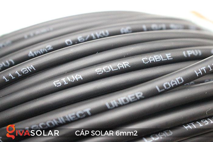 Cáp Solar DC 6mm2 6