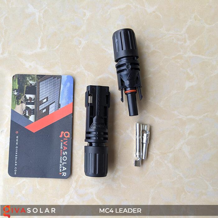Đầu nối dây điện MC4 DC 1500V hãng LEADER 4