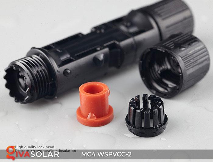 Đầu nối MC4 WSPVCC-2 IP67 DC 1000V 5
