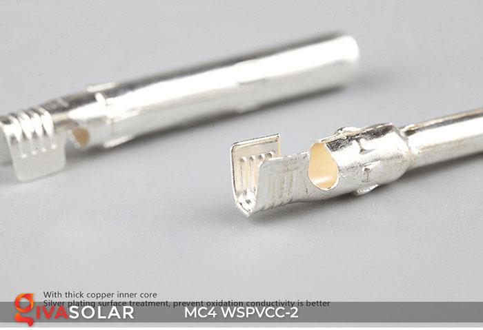 Đầu nối MC4 WSPVCC-2 IP67 DC 1000V 6