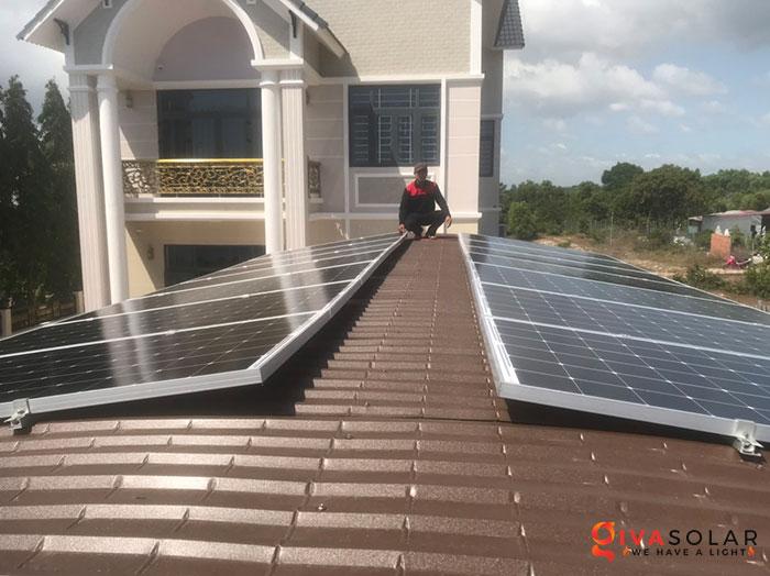 lắp đặt hệ thống hòa lưới áp mái 5KW cho khách Bình Thuận 1