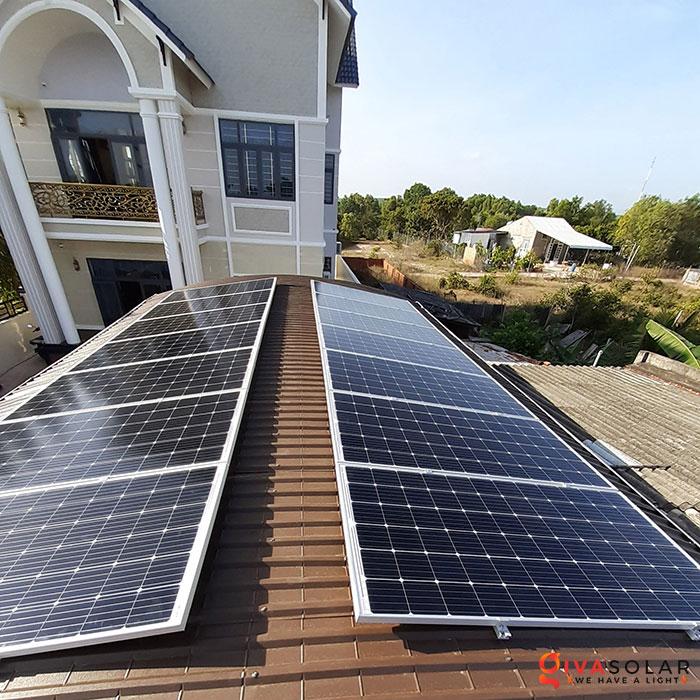 lắp đặt hệ thống hòa lưới áp mái 5KW cho khách Bình Thuận 3