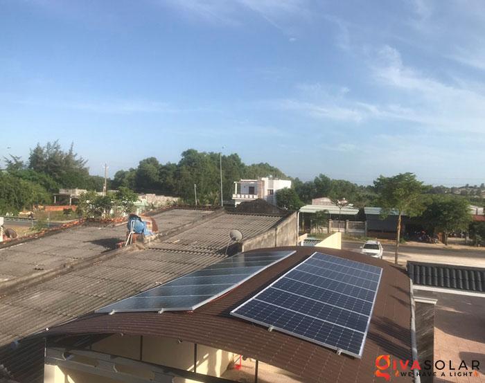 lắp đặt hệ thống hòa lưới áp mái 5KW cho khách Bình Thuận 4