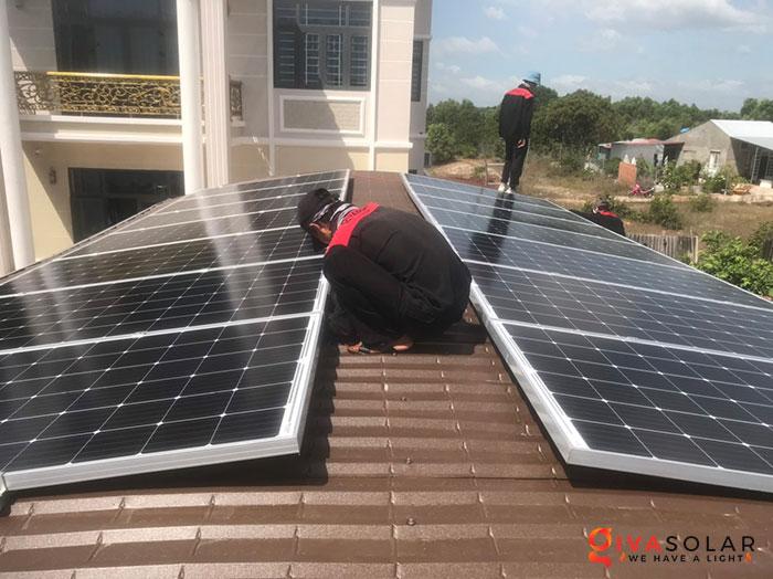 lắp đặt hệ thống hòa lưới áp mái 5KW cho khách Bình Thuận 5