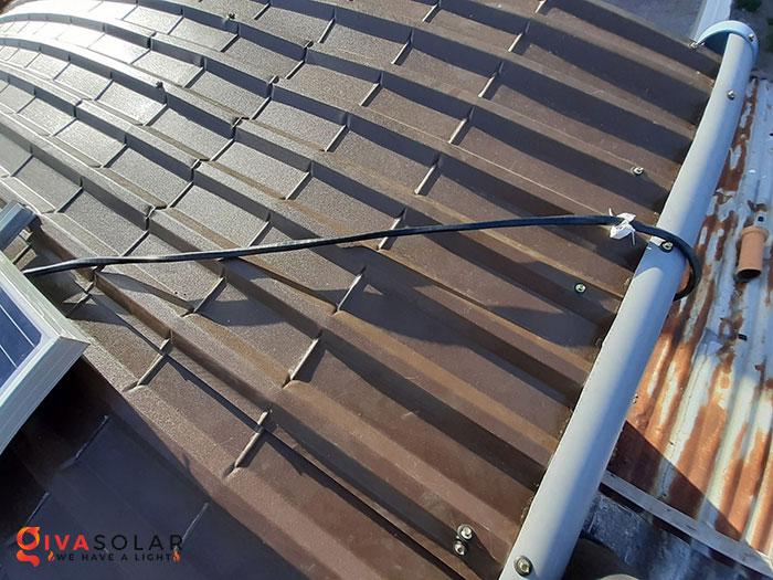 lắp đặt hệ thống hòa lưới áp mái 5KW cho khách Bình Thuận 6
