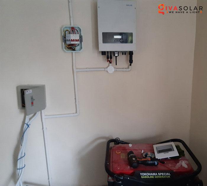 lắp đặt hệ thống hòa lưới áp mái 5KW cho khách Bình Thuận 7