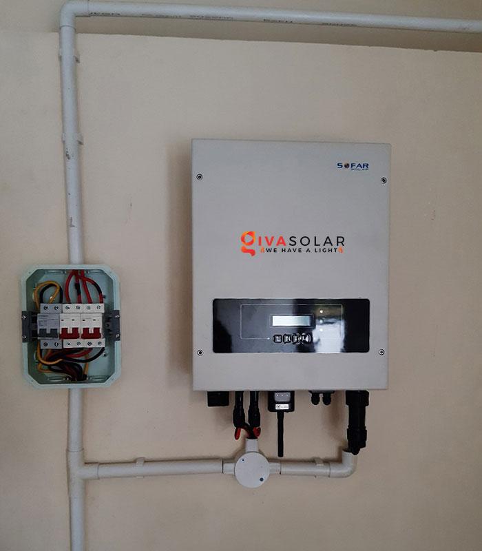 lắp đặt hệ thống hòa lưới áp mái 5KW cho khách Bình Thuận 8
