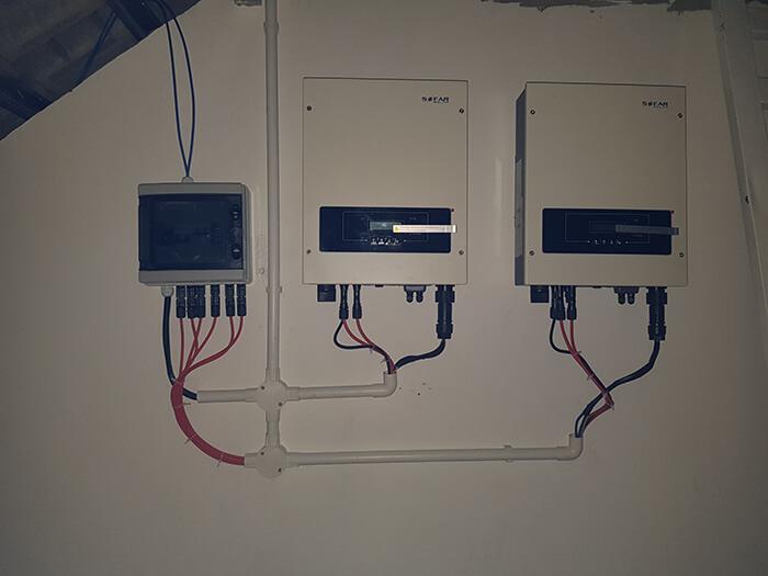 hệ thống hòa lưới 6KW cho anh Khánh ở Thủ Đức 12