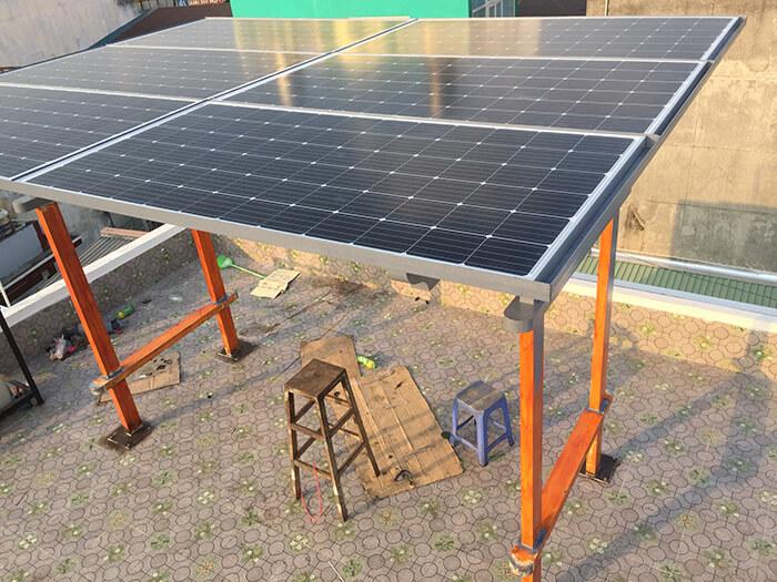Hoàn thành lắp đặt hệ thống 5KW cho anh Kiên ở Hóc Môn 7