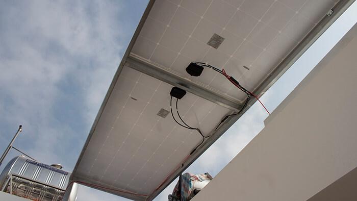 lắp điện mặt trời hòa lưới 4.5 KW cho anh Tường ở Quận 12 10