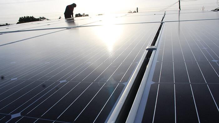 hệ thống điện mặt mặt trời 40KW hòa lưới 3 pha Ở Lâm Đồng 20
